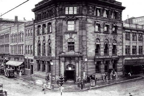Canadian Bank of Commerce (Ouellette Avenue & Riverside Drive) - 1920