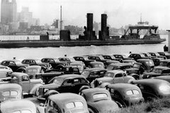 Chrysler Cars Lined Up on Riverfront (1920)- Ford City