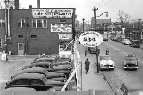 Liberty Auto Sales - Aylmer and Glengarry (1954)