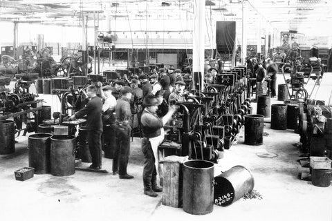 New Technology at Ford Plant - Ford City