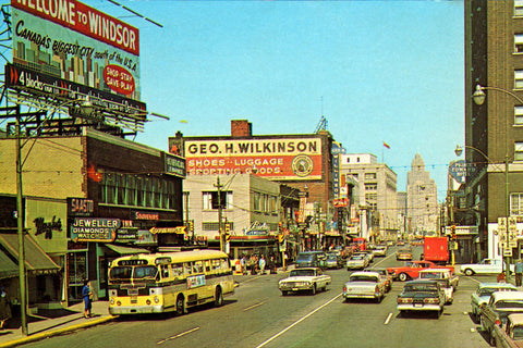 Ouellette Avenue (1960) - Downtown Windsor