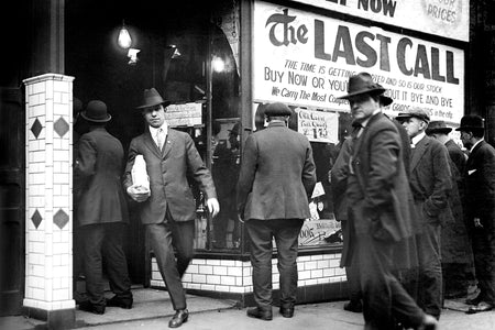 The Last Call For Alcohol (1920) - Downtown Windsor