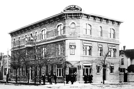 The Victoria Tavern (1898) - Walkerville