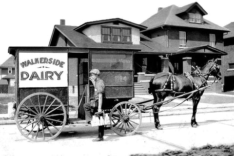 Walkerside Dairy Delivery (1920) - Walkerville