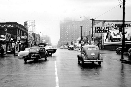 Wyandotte Street & Ouellette Avenue (1952) - Downtown Windsor