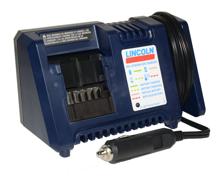 1855A |  Vehicle Battery Charger for 18 V Battery-Operated Grease Gun