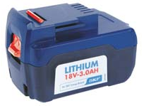 1861 |  PowerLuber 18 V Li Ion Battery for Battery-Operated Grease Gun