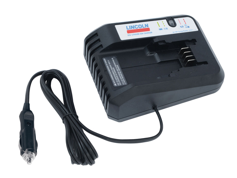 1875A |  One-Hour Vehicle Charger for PowerLuber 20 V Grease Gun