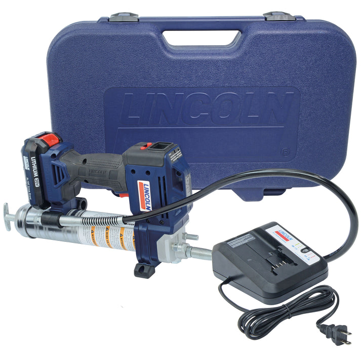 1882  |  PowerLuber 20 V Li Ion Battery-Operated Grease Gun