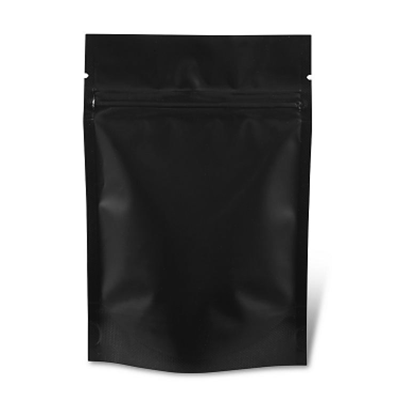 500 grams Black Stand Up Pouch With Seal