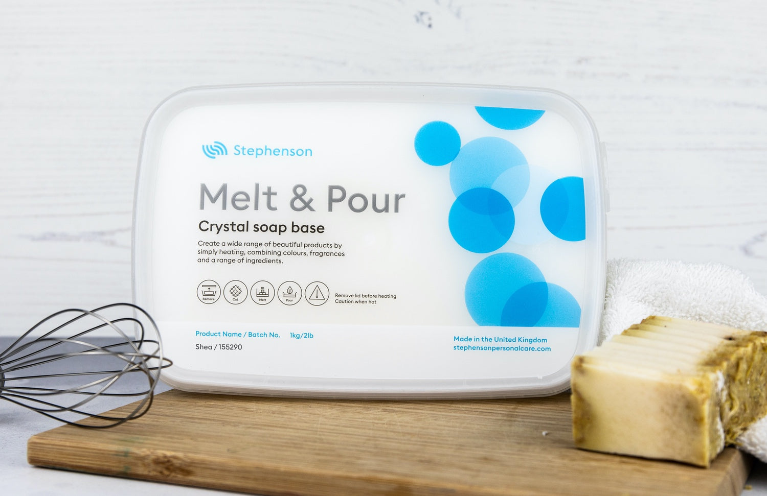 Melt & Pour Crystal Shea Butter
