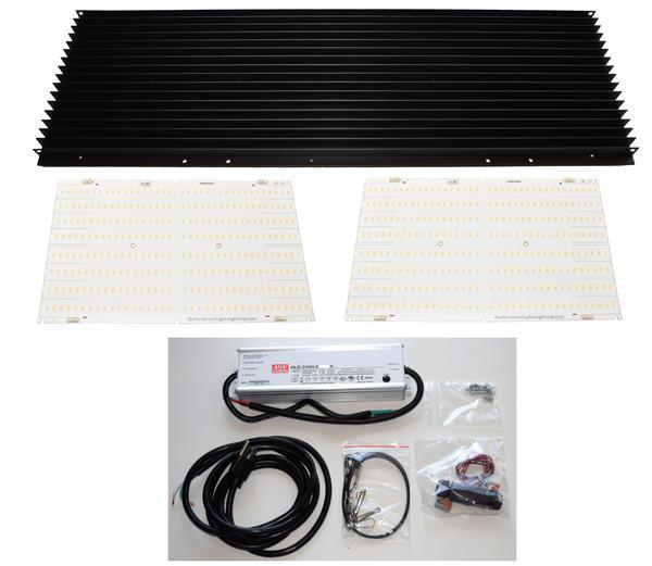 Horticulture Lighting Group 260 Watt V2 Quantum Board DIY LED Grow Light Kit (with Samsung LM301B diodes)  - LED Grow Lights Depot