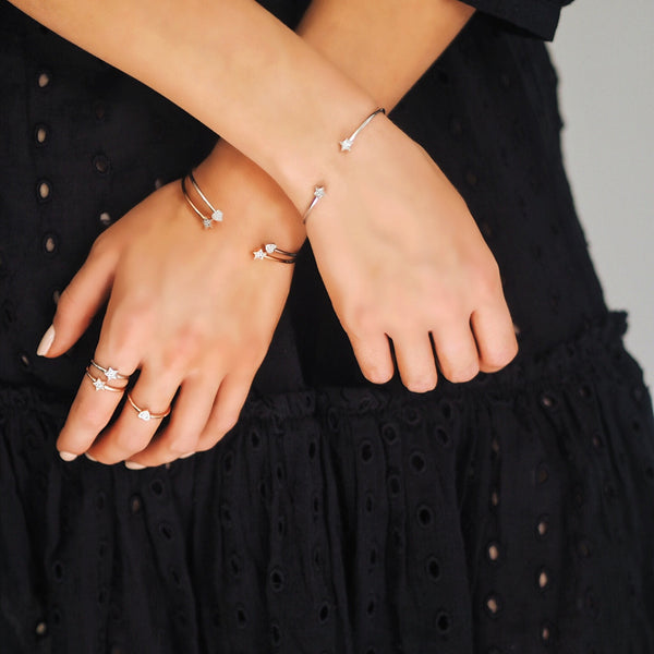 Grace Rose Star Ring