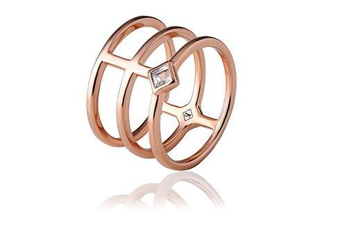 Alexa Rose Wide Ring