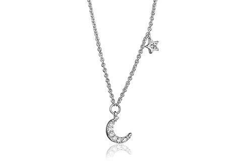 Grace Moon and Star Necklace
