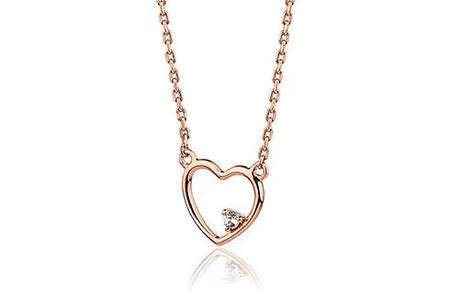 Grace Silver Heart Bangle