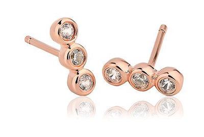 Megan Trilogy Stud Earrings