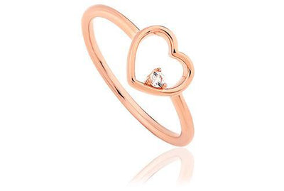 Faith Heart Ring