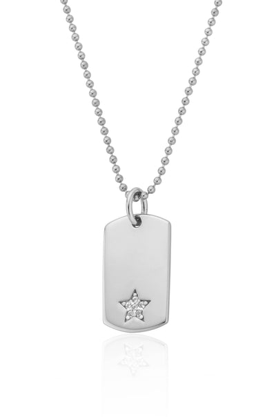 Grace Star Tag Pendant