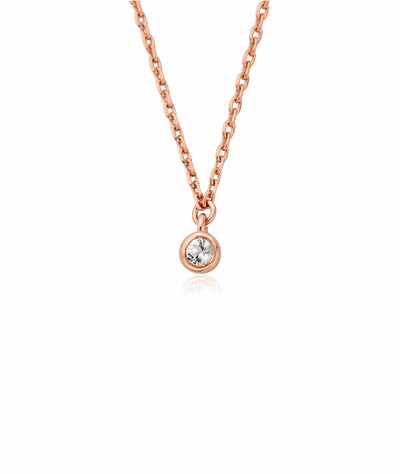 Megan Solitaire Necklace