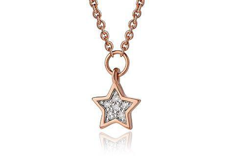 Grace Rose Star Necklace