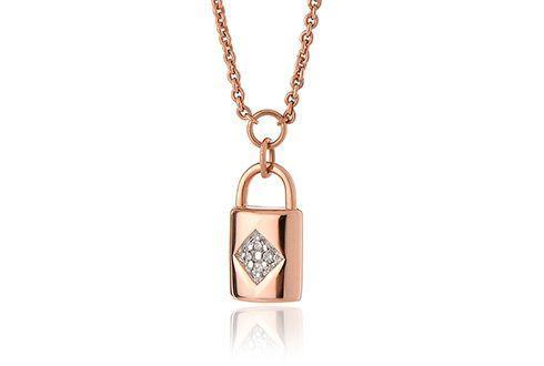 Audrey Rose Lock Necklace