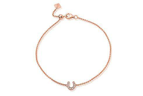 Grace Rose Horseshoe Bracelet