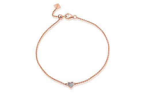 Grace Rose Heart Bracelet