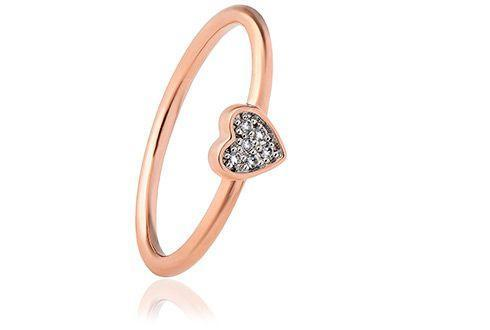 Grace Rose Heart Ring