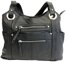 Concealed Carry Genuine Leather Shoulder Bag