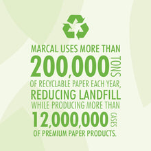 Marcal Pro Paper Towels, 2-Ply, 70 Sheets Per Roll, 100% Recycled - 6 Rolls
