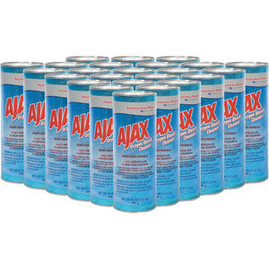 Ajax Heavy-Duty Oxygen Bleach Powder, 21oz, 24 Cans