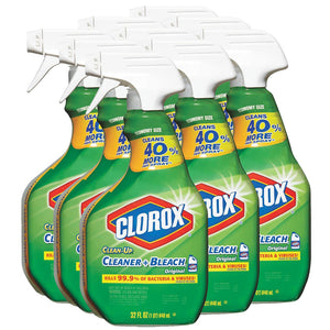 Clorox Clean-Up All Purpose Cleaner with Bleach, 32-oz, 9 Spray Bottles