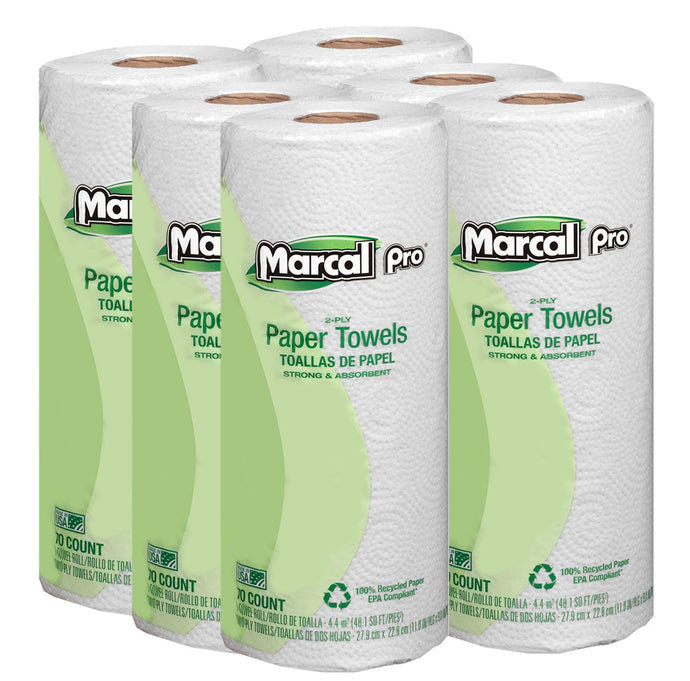 marcal pro paper towels 70 sheets recycled