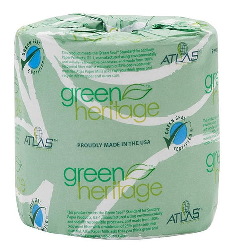 green heritage atlas 2 ply toilet tissue paper