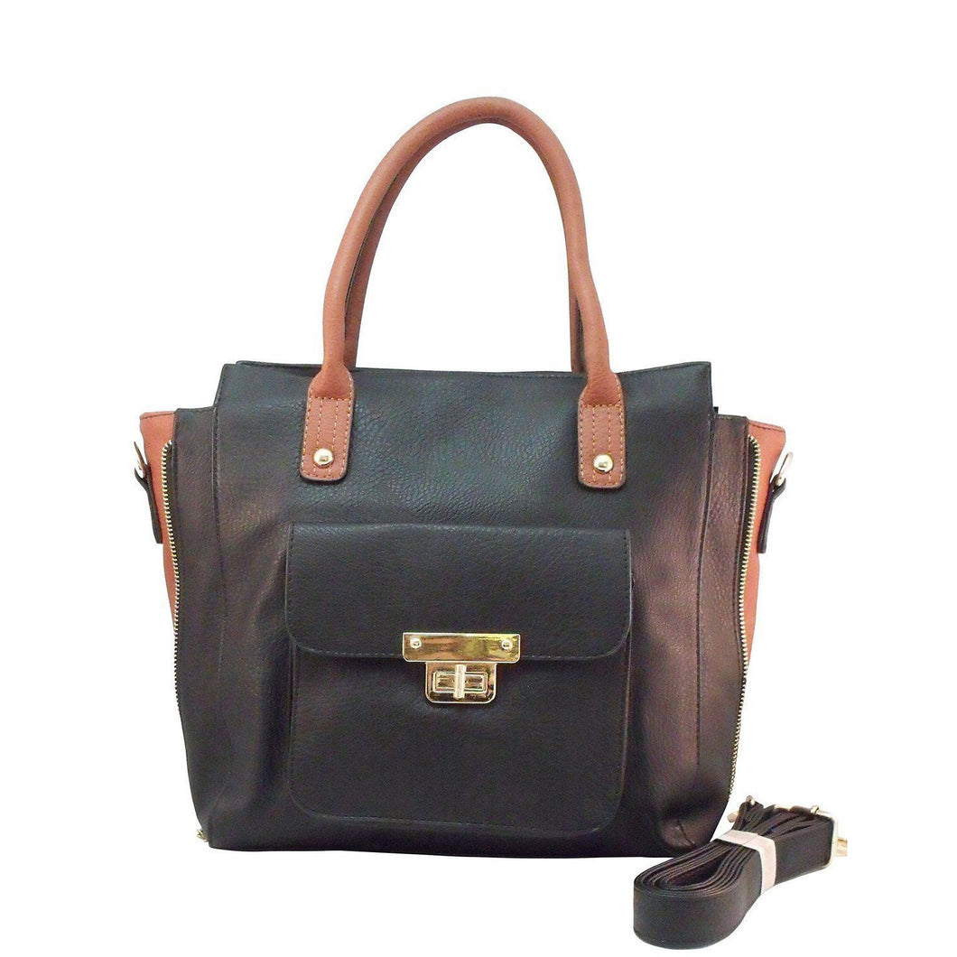 Crossbody Concealed Carry Satchel Purse