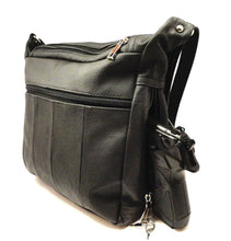 Concealed Carry Genuine Leather Crossbody Purse