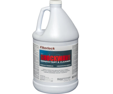 fiberlock shockwave gallon disinfectant cleaner