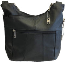 Genuine Leather Adjustable Crossbody Concealed Carry Purse