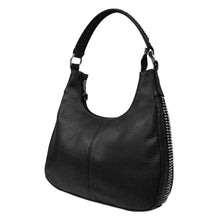 Rhinestone Faux Leather Concealed Carry Hobo Shoulder Purse