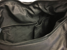 Leather Ambidextrous CCW Purse - Locking Zipper Compartment
