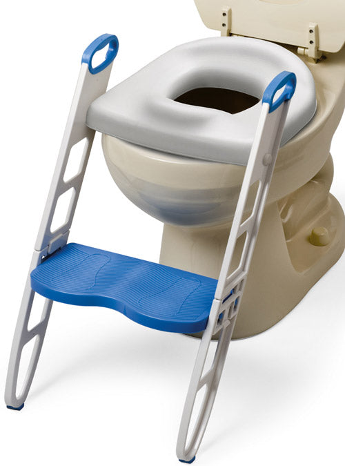 Cushie Step-Up Padded Potty Seat w/ Step Stool