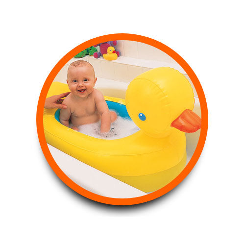 Munchkin Inflatable SafetyTub - Yellow