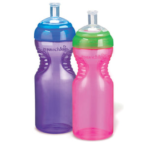 Munchkin Mighty Grip 10oz Sports Bottle, 2 pk - Assorted Colors