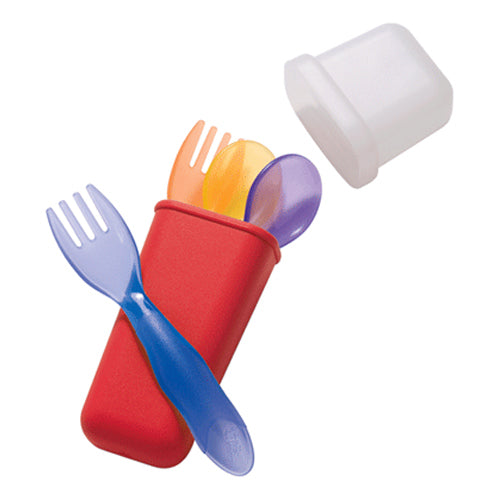 Take & Toss Toddler Flatware Set