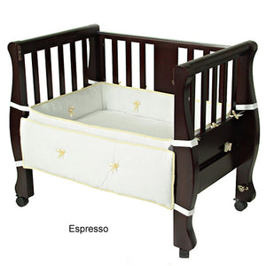Arm's Reach Sleigh Bed Co-Sleeper