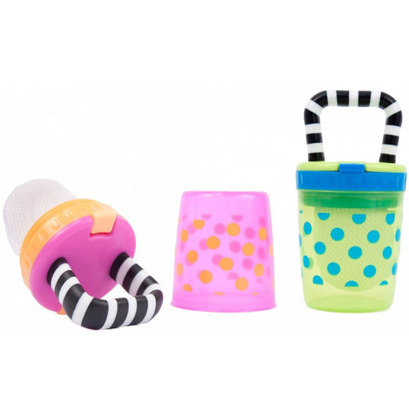 Sassy Teething Feeder 1 pack - Colors May Vary