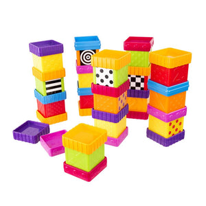 Sassy Deluxe 40 Piece Build and Discover Block Set