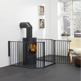 "BabyDan Flex Hearth Gate Extra Large 35.4"" - 109.5"""