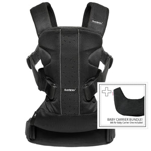 BabyBjorn Baby Carrier One Carrier & Bib Bundle